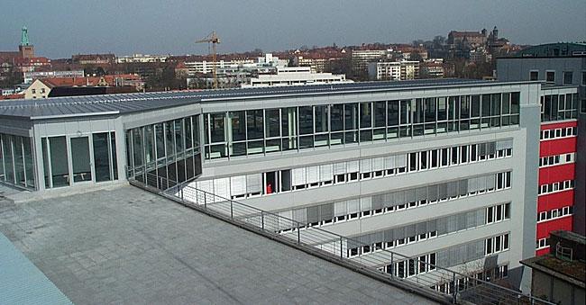 Bürokomplex Nürnberg Deutschherrnstraße