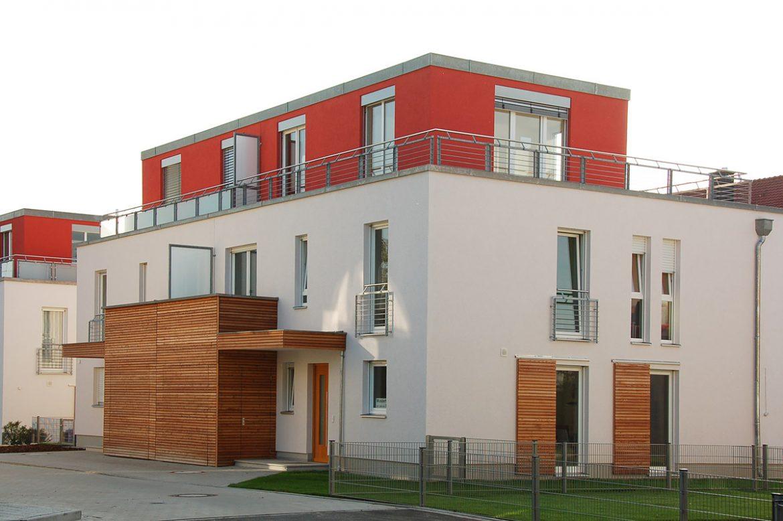 Doppelhäuser in Nürnberg, Schnepfenreuther Weg