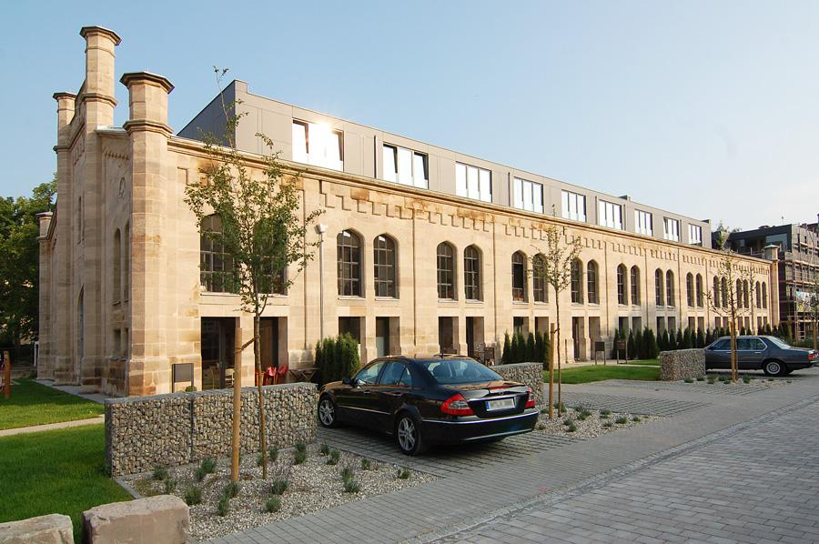 Ehemalige Reithalle der Bayerischen Kavallerie in Nürnberg, Bärenschanzstraße