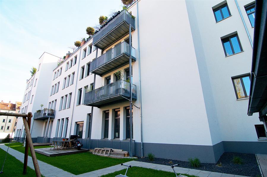 Wohnanlage in Nürnberg, Fichtestraße