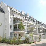 Wohnanlage mit 30 Wohneinheiten und Tiefgarage in Nürnberg, Bürgweg