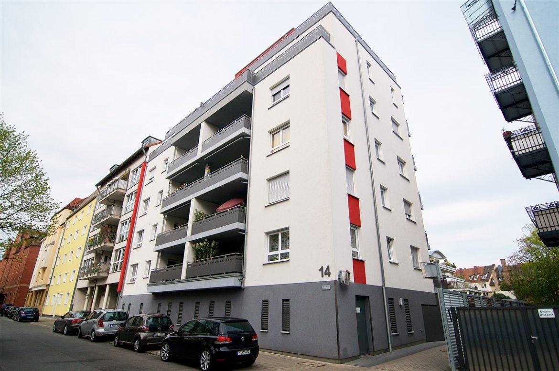 Wohnanlage in Nürnberg, Schlüsselfelder Straße