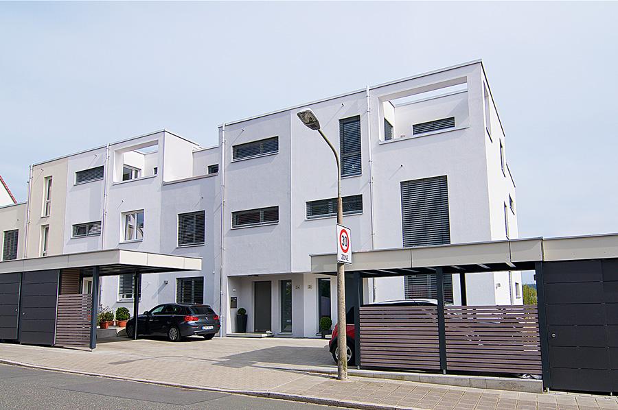 Wohnanlage in Nürnberg, Wilhelm-Raabe-Straße