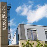 Hansa Park in Nürnberg, Hansastraße