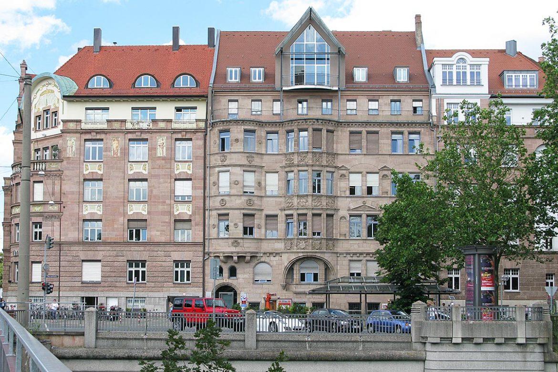 Wohn- und Geschäftshaus in Nürnberg, Prinzregentenufer